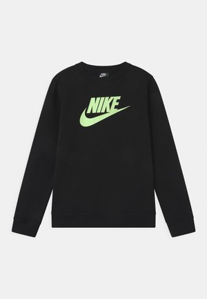 CLUB CREW - Sweater - black/barely volt