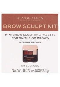 Make up Revolution - BROW SCULPT KIT - Make-up Set - medium - 2
