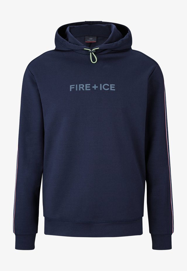 Sweat à capuche - navy blau