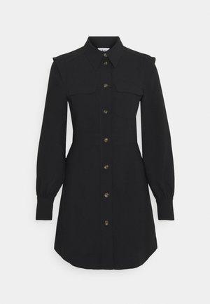 PARKER DRESS - Košilové šaty - black