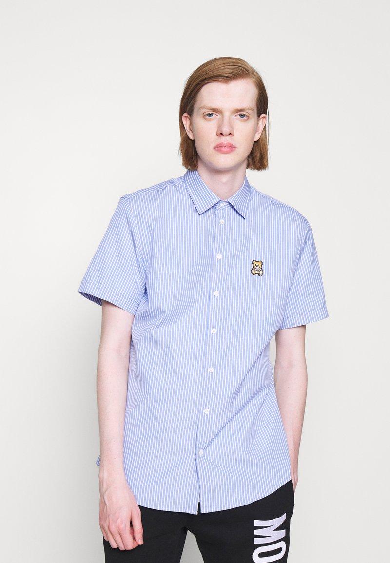 MOSCHINO - BLOUSE - Shirt - light blue