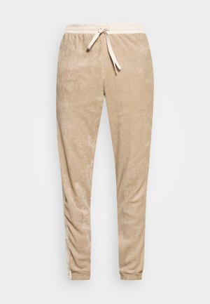 TRACKPANTS LOUNGIN - Träningsbyxor - beige/off white