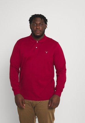PLUS ORIGINAL RUGGER - Polo - mahogny red
