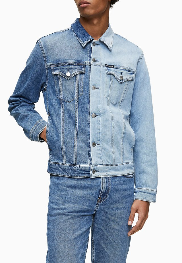 Denim jacket - double blue shades