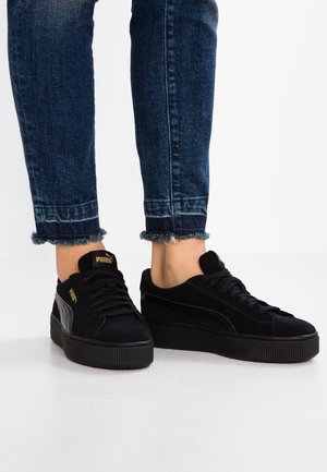VIKKY STACKED - Sneakersy niskie - black