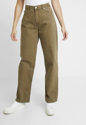 RAIL - Straight leg jeans - khaki