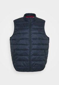 Jack & Jones - JJEMAGIC BODYWARMER COLLAR  - Väst - navy blazer - 0