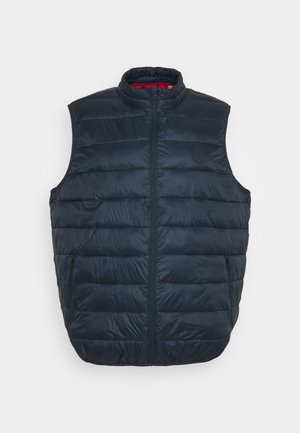 JJEMAGIC BODYWARMER COLLAR  - Waistcoat - navy blazer