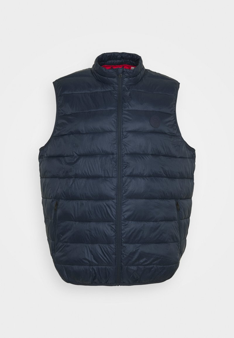 Jack & Jones - JJEMAGIC BODYWARMER COLLAR  - Väst - navy blazer
