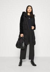 comma - Winter coat - black - 1