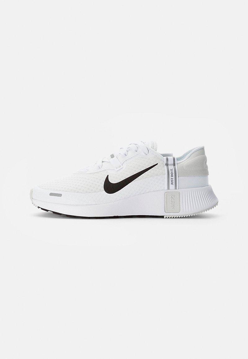 Nike Sportswear - NIKE REPOSTO - Sneakers basse - white/black-platinum tint-mtlc silver-gum light brown