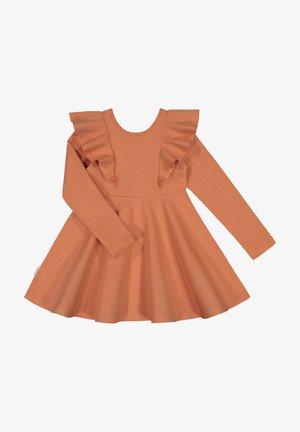 Day dress - peach gold