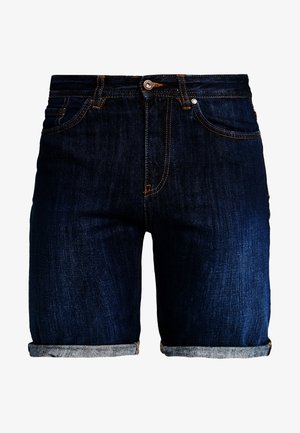 BASIC - Denim shorts - blues