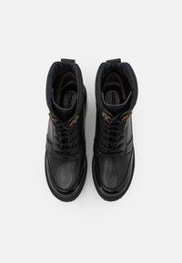 See by Chloé - Šněrovací kotníkové boty - black - 3