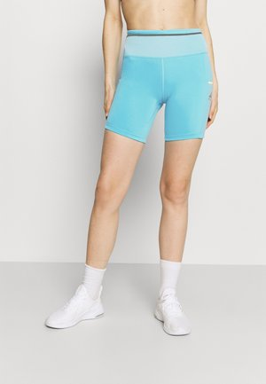 EPIC LUXE SHORT - Tights - chlorine blue/limelight/silver
