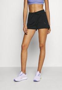 ONLY Play - ONPATIFA TRAIN SHORTS - Sports shorts - black - 0