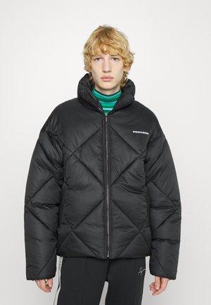 LABIN QUILTED PUFFER JACKET UNISEX - Winter jacket - black