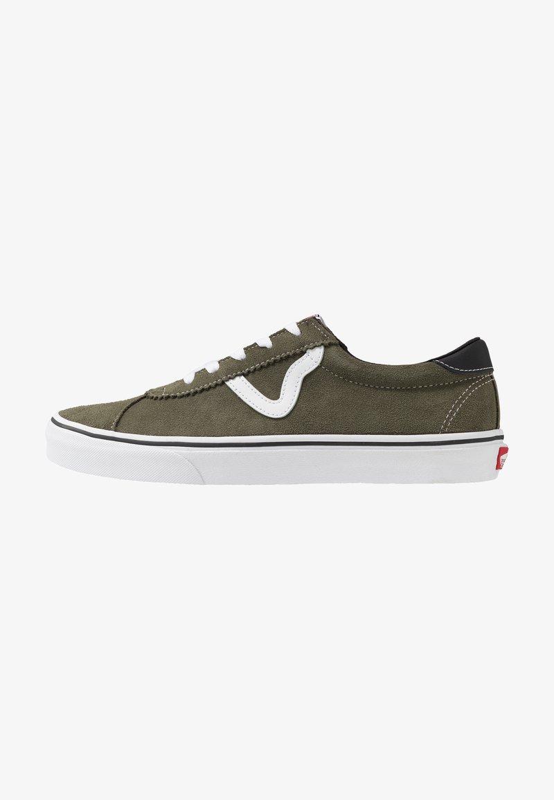 Vans - VANS SPORT - Sneakersy niskie - grape leaf/true white