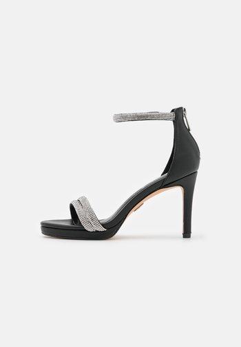 VEGAN SELMA - High heeled sandals - black