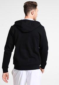 Lacoste Sport - HERREN SWEATJACKE-SH7609 - Huvtröja med dragkedja - noir/argent chine - 2