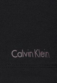 Calvin Klein Underwear - PERFECTLY FIT FLEX WIDE NECK - Pyjama top - black - 4