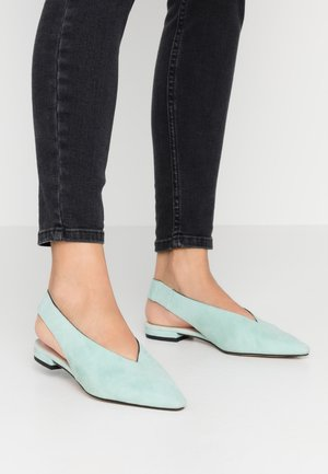 Slingback ballet pumps - mint