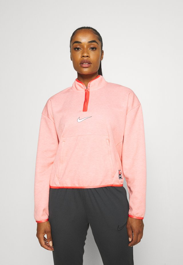 FC MIDLAYER - Long sleeved top - magic ember/white