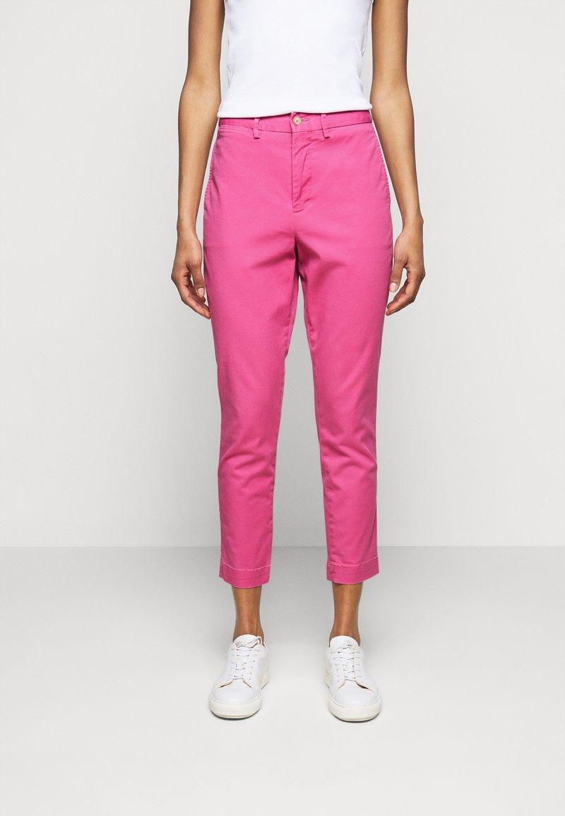 Polo Ralph Lauren - MODERN STRETCH - Trousers - pink glory