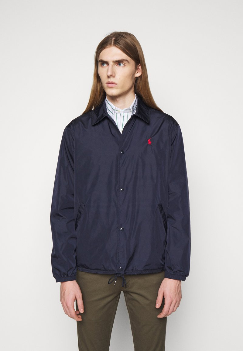 Polo Ralph Lauren - PLAINWEAVE COACHS JACKET - Summer jacket - aviator navy