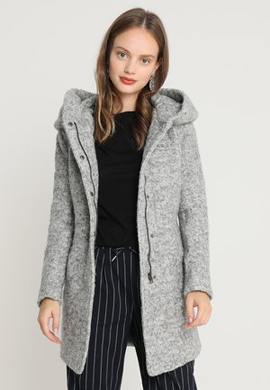ONLSEDONA COAT - Kort kappa / rock - light grey melange