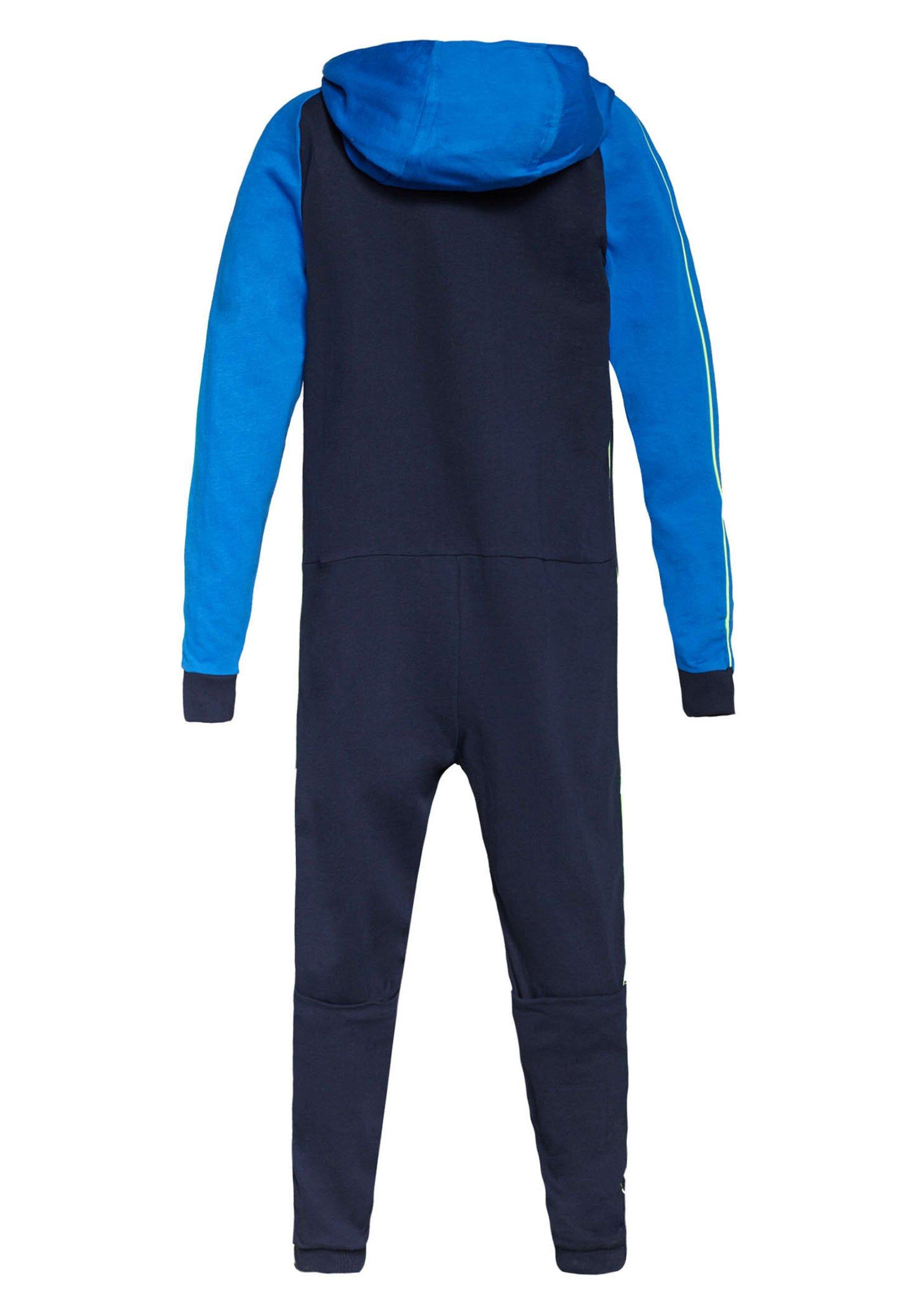 Ogromny zakres Zakupy WE Fashion WE FASHION JONGENS FLEECE ONESIE - Piżama - blue | Dzieci Odzież 2020 Cow50