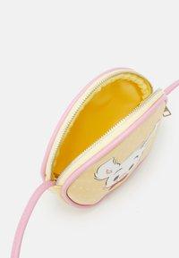 Lindex - BAG SMALL BAMSE RABBIT - Across body bag - light yellow - 2