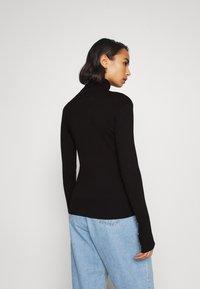 Anna Field Petite - Stickad tröja - black - 2