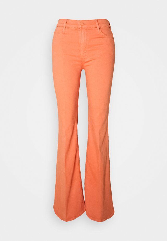 THE DOOZY - Flared Jeans - cen carnelian