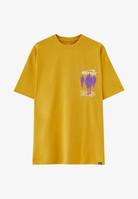 PULL&BEAR - PERSONEN - T-shirt med print - yellow - 5