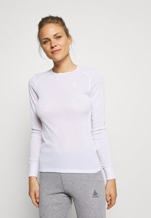 CREW NECK ACTIVE WARM - Hemd - white