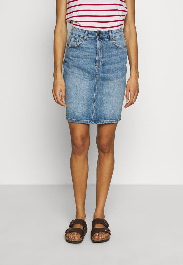 FALDA - Spódnica ołówkowa  - medium blue