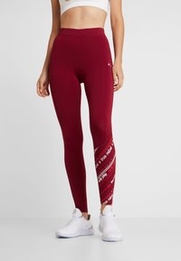 ONLY Play - ONPJENNIFER  - Collants - beet red/white/flame scarlet - 0