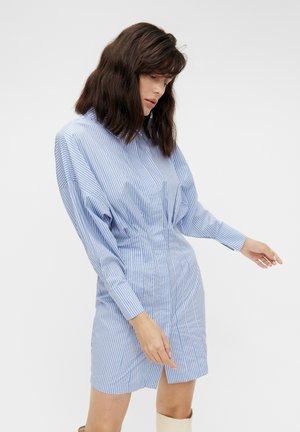 OBJMACY BAT DRESS - Shirt dress - serenity