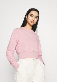 Nike Sportswear - AIR CREW  - Sweater - pink glaze/white - 0