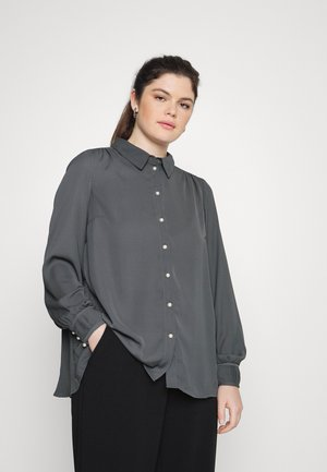MCARIN - Button-down blouse - asphalt