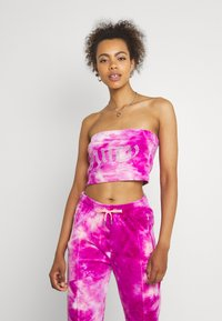 Juicy Couture - BABE TIE DYE BOOBTUBE - Top - rosebud/almond blossom - 0