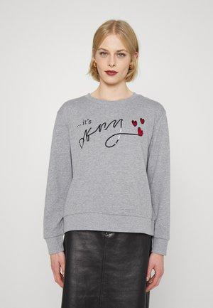 ITS SCRIPT LOGO - Sweatshirt - avenue grey