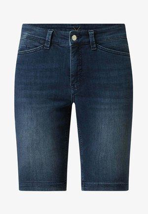 MIT STRETCH-ANTEIL MODELL DREAM - Denim shorts - hellblau meliert