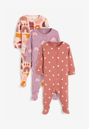 3 PACK RAINBOW  - Sleep suit - pink