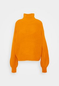 NMTOMMY HIGH NECK - Jumper - inca gold