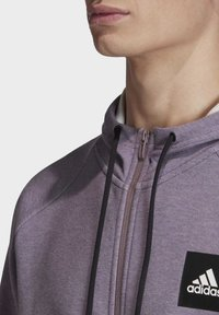 adidas Performance - MUST HAVES STADIUM HOODIE - Hættetrøjer - purple melange - 5