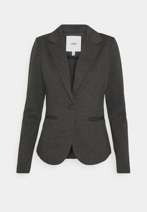 KATE - Blazer - dark grey melange