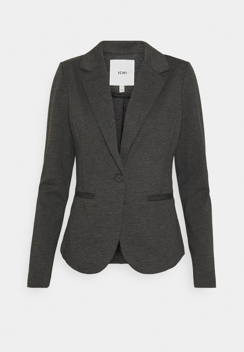 ICHI - KATE - Blazer - dark grey melange