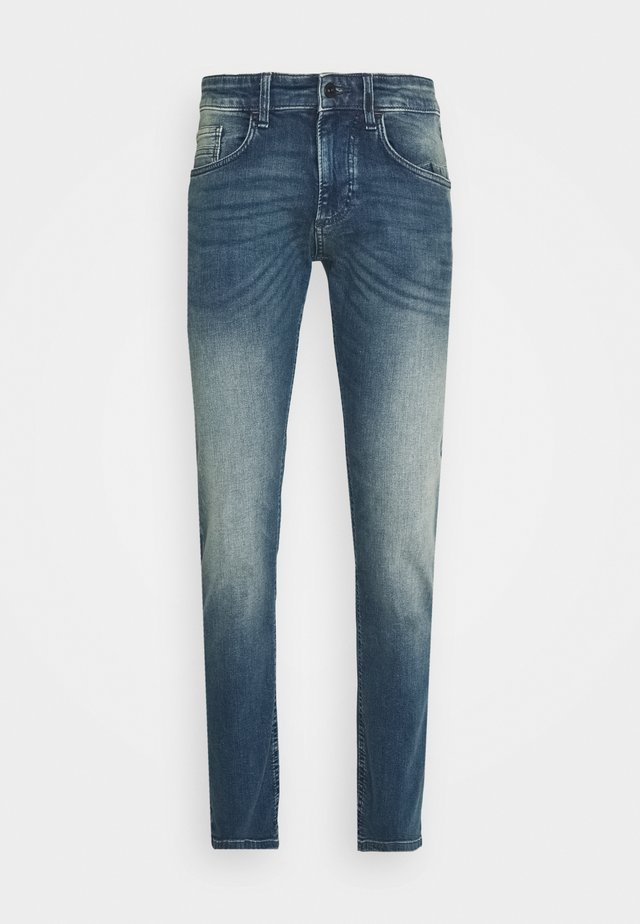 Slim fit jeans - indgo greencast used